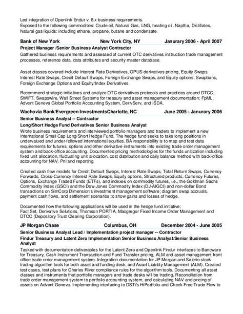 Openlink endur consultant resume in london united kingdom